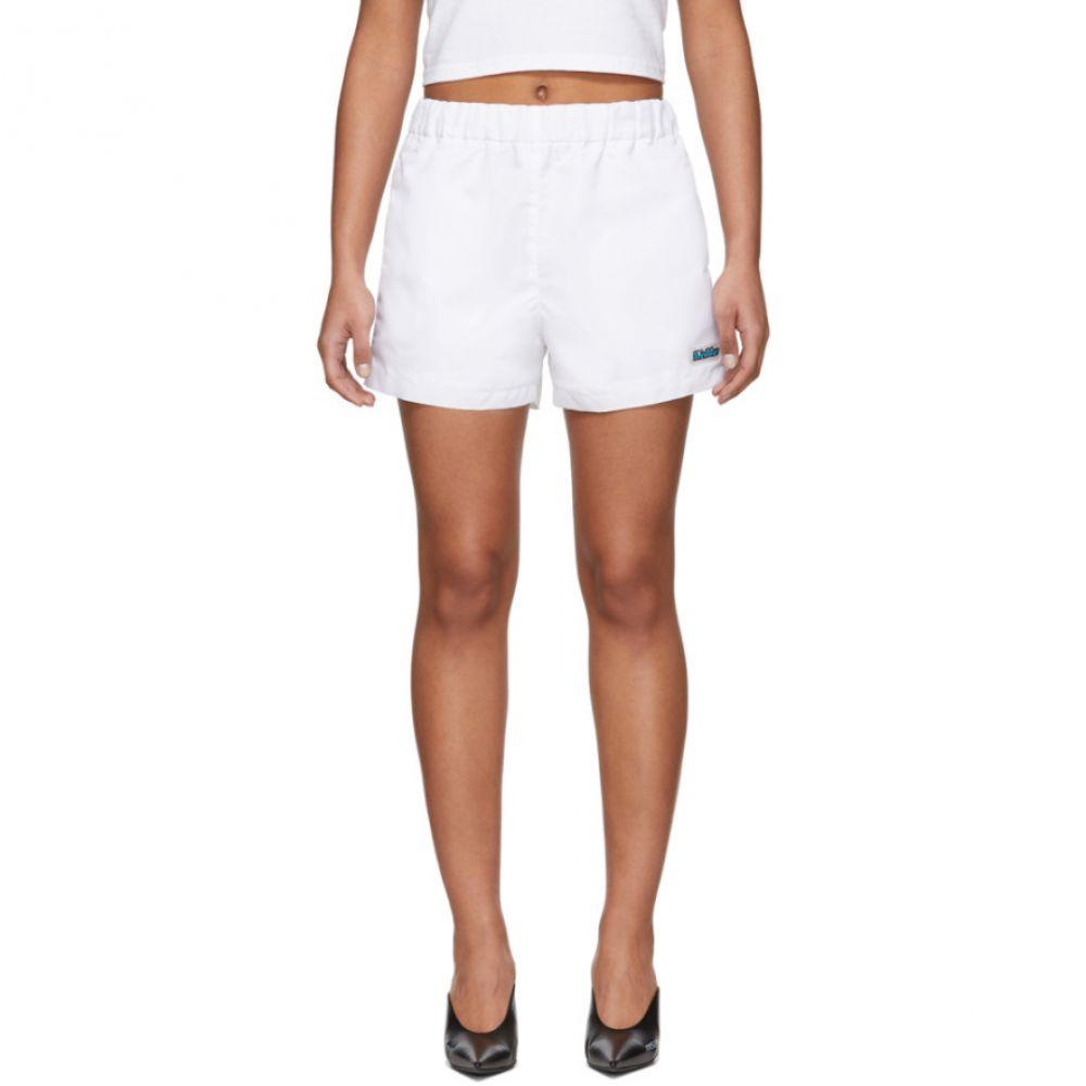 ミスビヘイブ MISBHV レディース ショートパンツ ボトムス・パンツ【White 'The ' Shorts】White