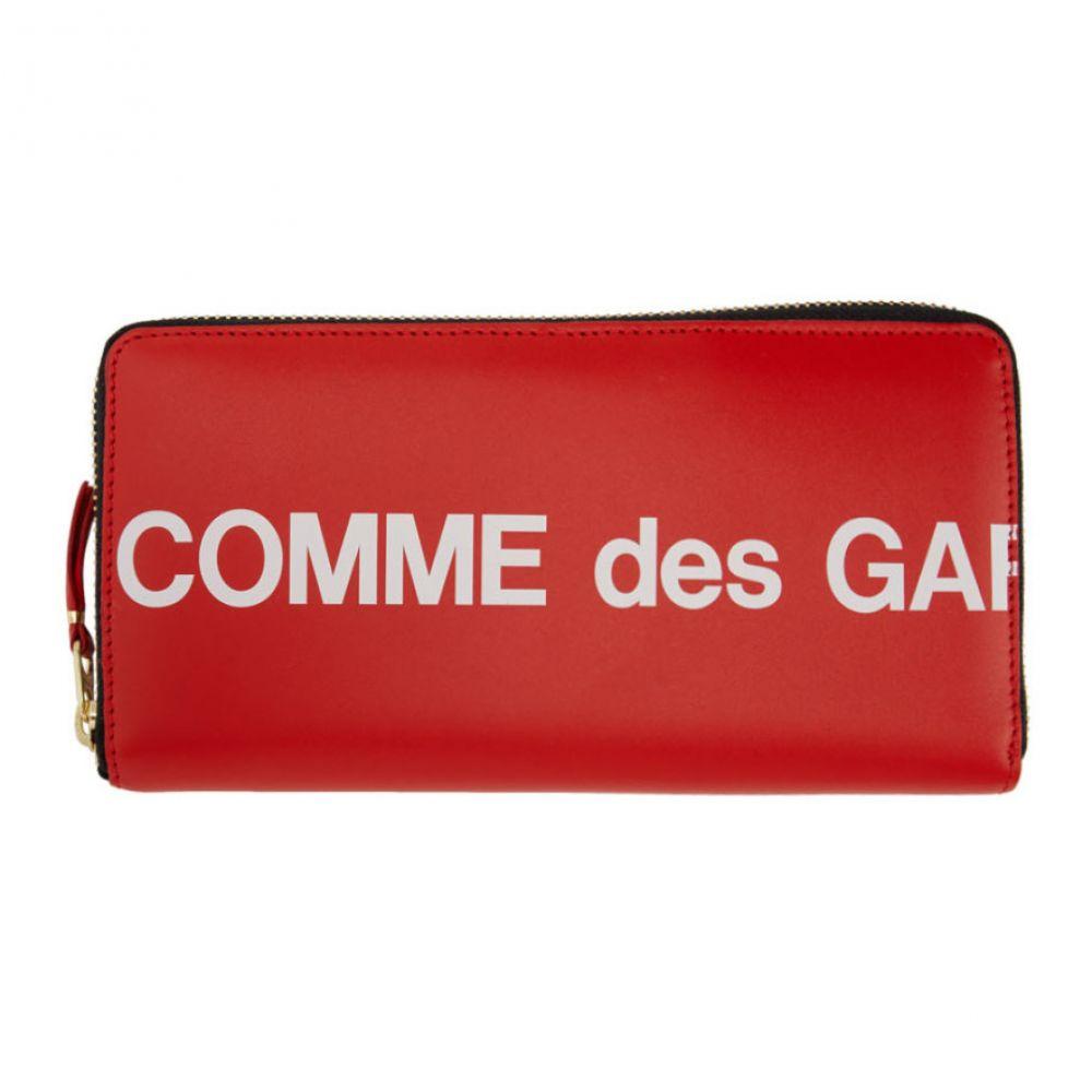 コム デ ギャルソン Comme des Garcons Wallets レディース 財布 【Red Huge Logo Continental Wallet】Red