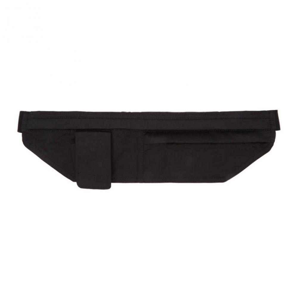 リック オウエンス Rick Owens Drkshdw レディース ボディバッグ・ウエストポーチ バッグ【Black Murray Belt Bag】Black