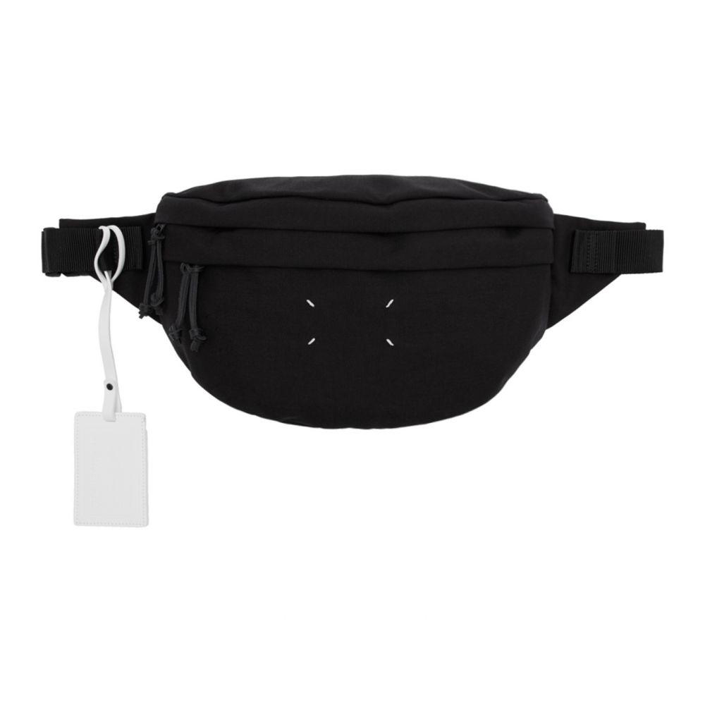 メゾン マルジェラ Maison Margiela レディース ボディバッグ・ウエストポーチ バッグ【Black Canvas Bum Bag】Black