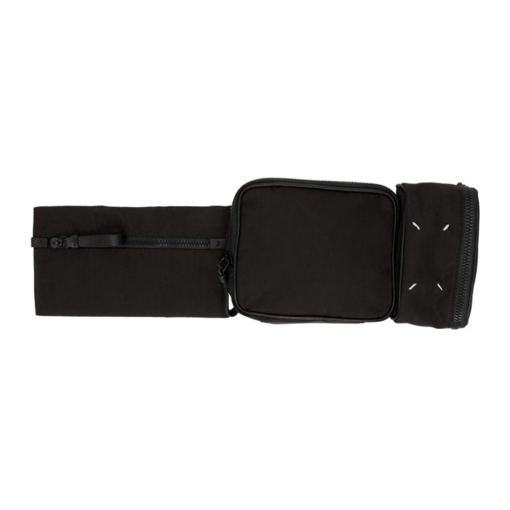 メゾン マルジェラ Maison Margiela レディース ボディバッグ・ウエストポーチ バッグ【Black Multi Pouch Belt Bag】Black