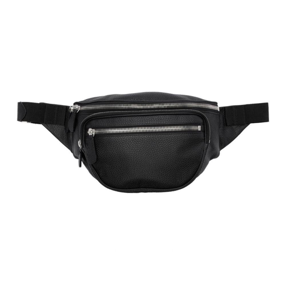 メゾン マルジェラ Maison Margiela レディース ボディバッグ・ウエストポーチ バッグ【Black Leather Belt Bag】Black