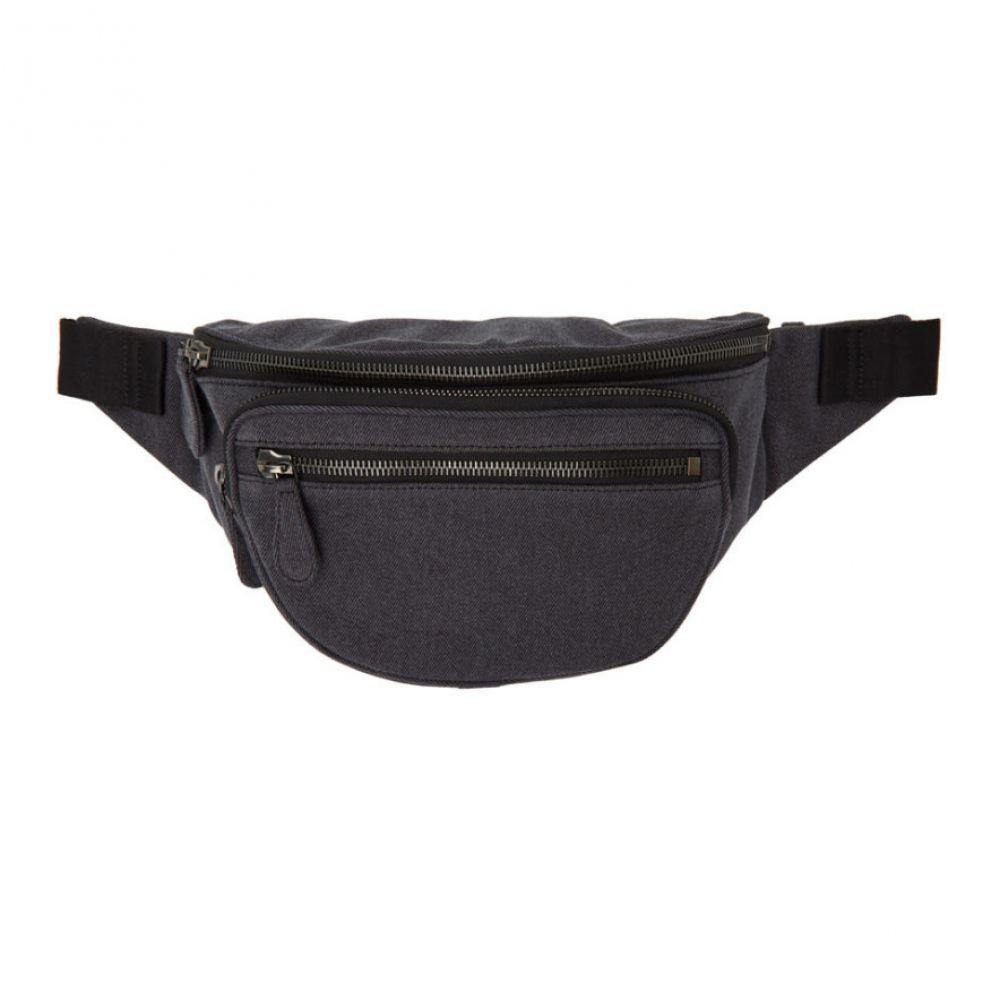 メゾン マルジェラ Maison Margiela レディース ボディバッグ・ウエストポーチ バッグ【Grey Denim Bum Bag】Black