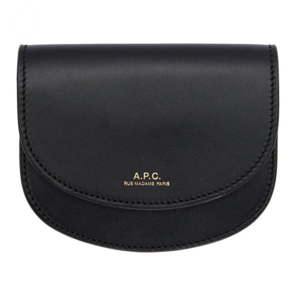 アーペーセー A.P.C. レディース 財布 【Black Compact Geneve Wallet】Black
