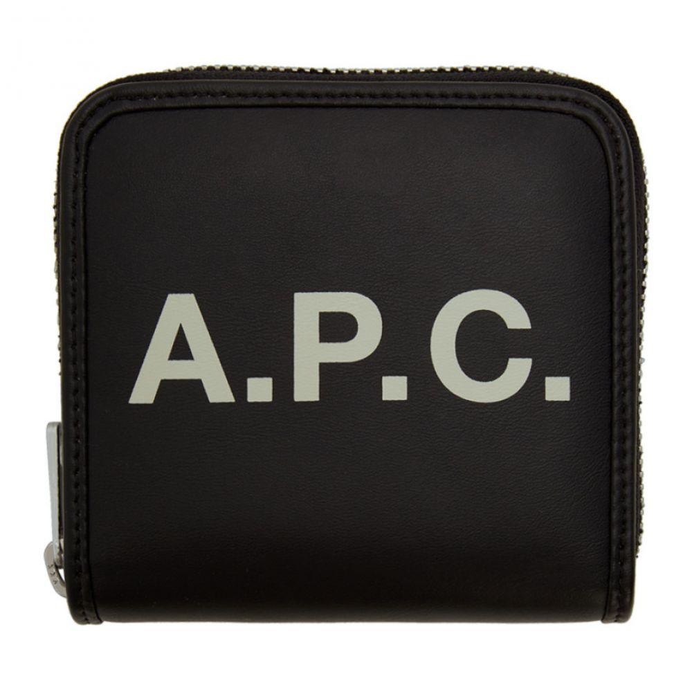 アーペーセー A.P.C. レディース 財布 【Black Compact Morgan Wallet】Black