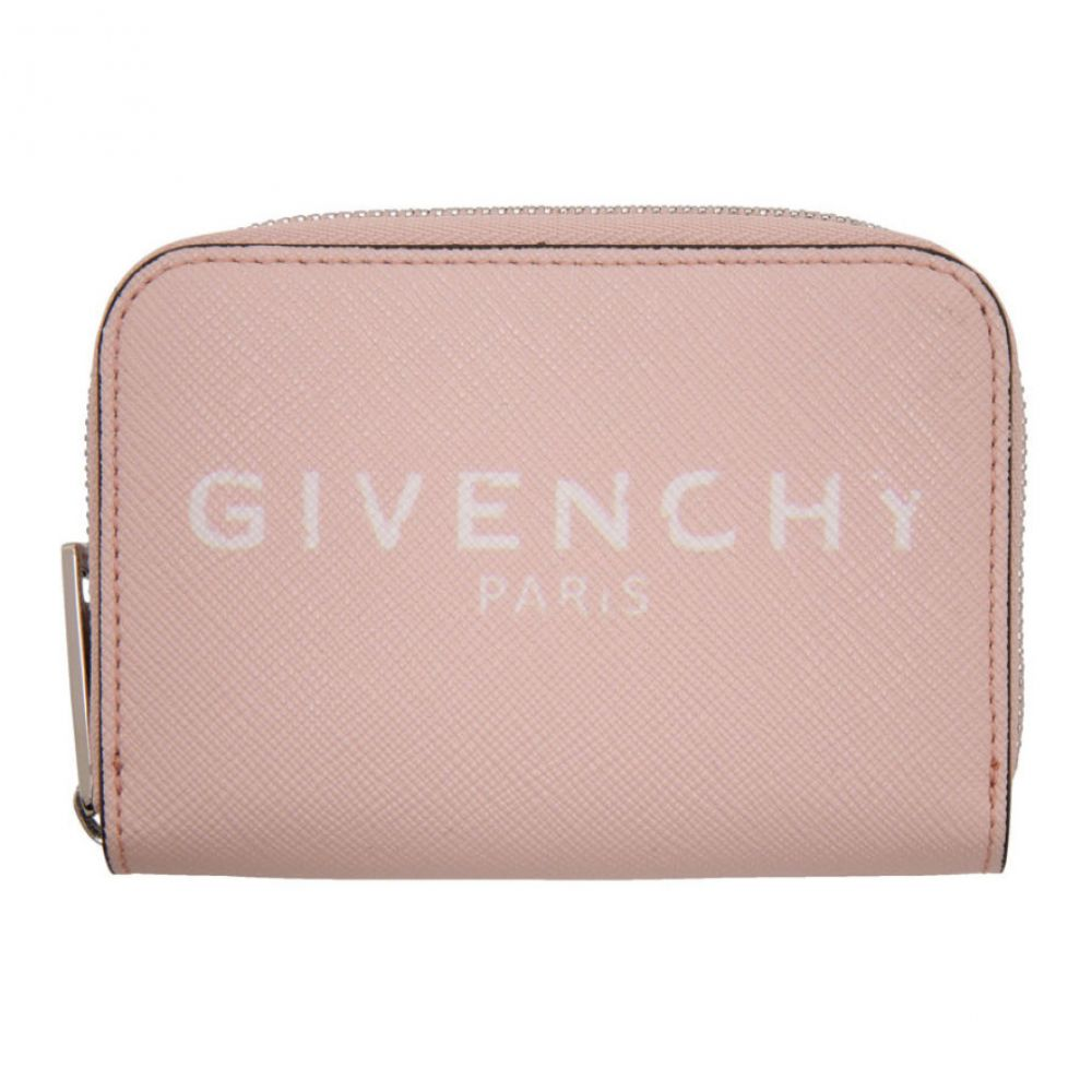 ジバンシー Givenchy レディース 財布 【Pink Mini ' Paris' Zip Wallet】Pink