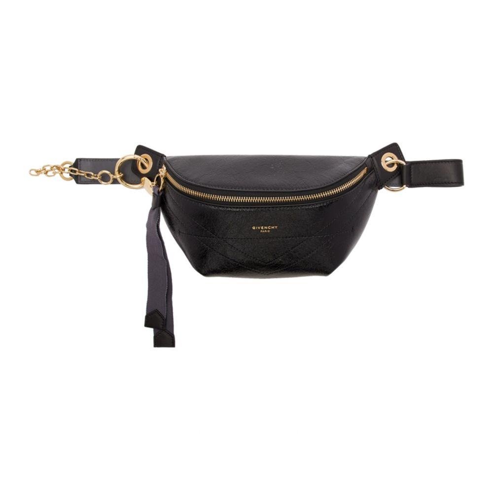 ジバンシー Givenchy レディース ボディバッグ・ウエストポーチ バッグ【Black ID Bum Bag】Black