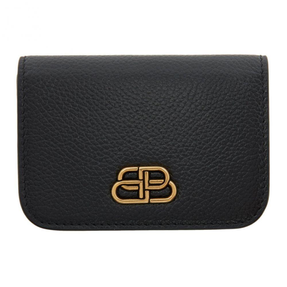 バレンシアガ Balenciaga レディース 財布 【Black Mini BB Wallet】Black