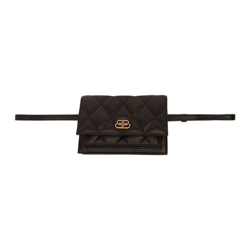バレンシアガ Balenciaga レディース ボディバッグ・ウエストポーチ バッグ【Black XS Sharp Belt Bag】Black