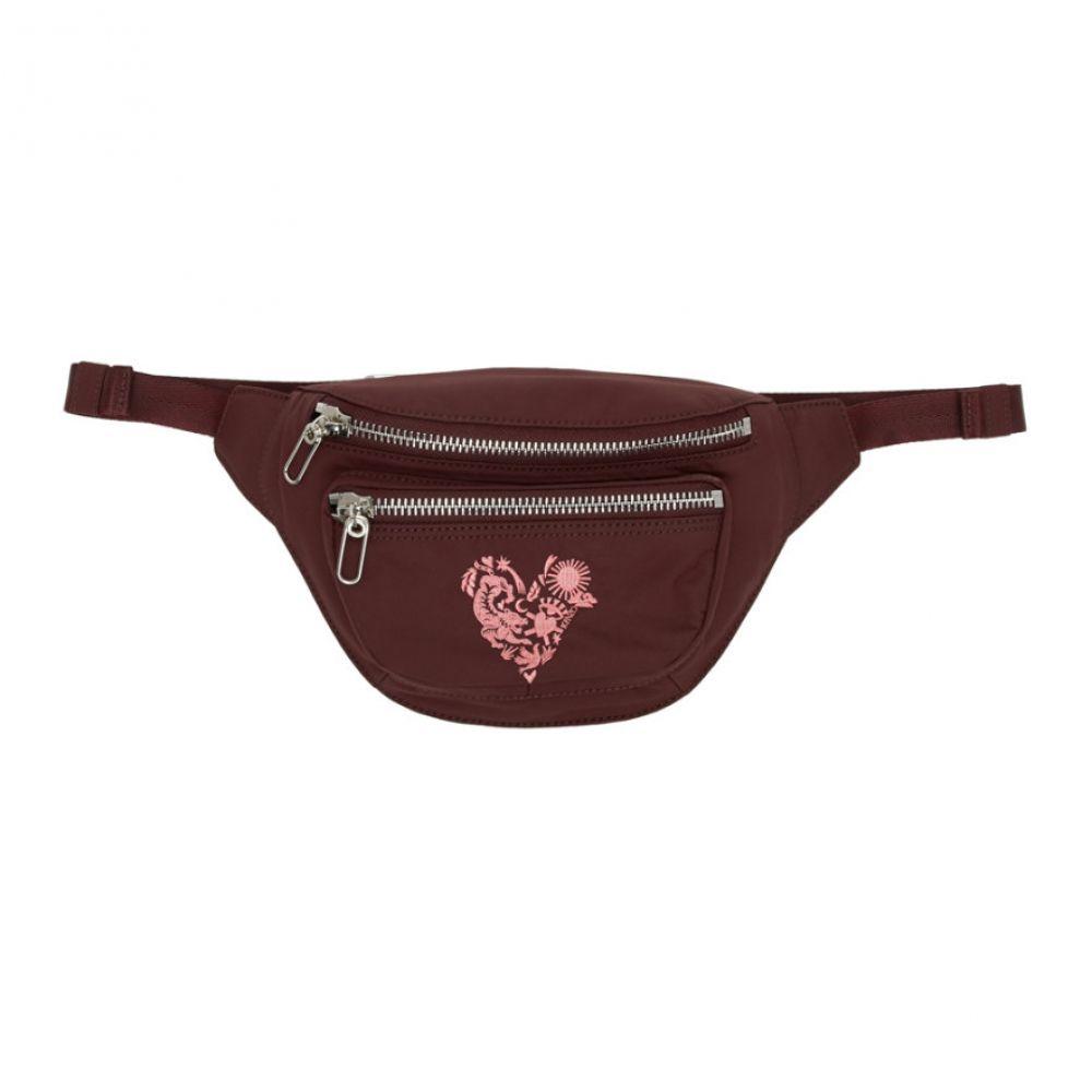 ケンゾー Kenzo レディース ボディバッグ・ウエストポーチ バッグ【Burgundy Limited Edition Valentine's Day Mini Lucky Star Belt Bag】Burgundy