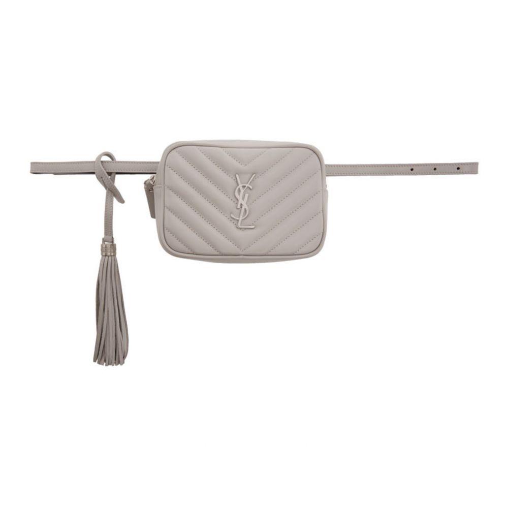 イヴ サンローラン Saint Laurent レディース ボディバッグ・ウエストポーチ バッグ【Grey Lou Belt Bag】Granite