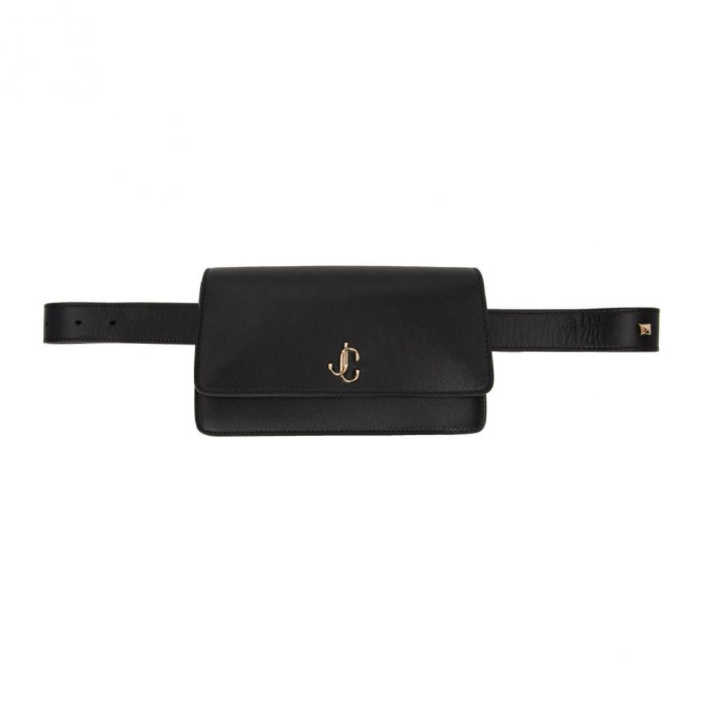 ジミー チュウ Jimmy Choo レディース ボディバッグ・ウエストポーチ バッグ【Black Varenne Belt Bag】Black