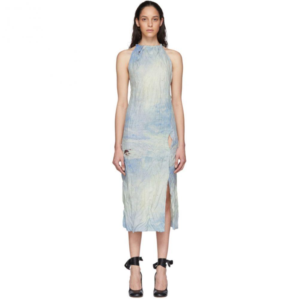 アクネ ストゥディオズ Acne Studios レディース ワンピース ワンピース・ドレス【Blue Dressuila Dress】Blue