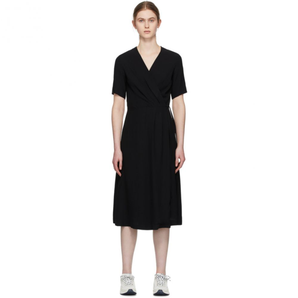 アーペーセー A.P.C. レディース ワンピース ワンピース・ドレス【Black Mathilda Dress】Black