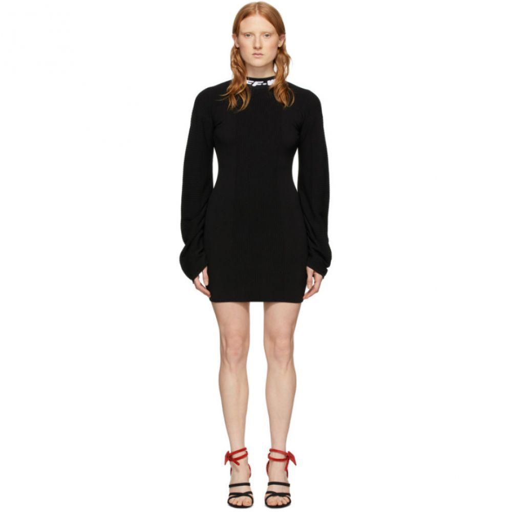 オフホワイト Off-White レディース ワンピース ミニ丈 ワンピース・ドレス【Black Industrial Mini Dress】Black
