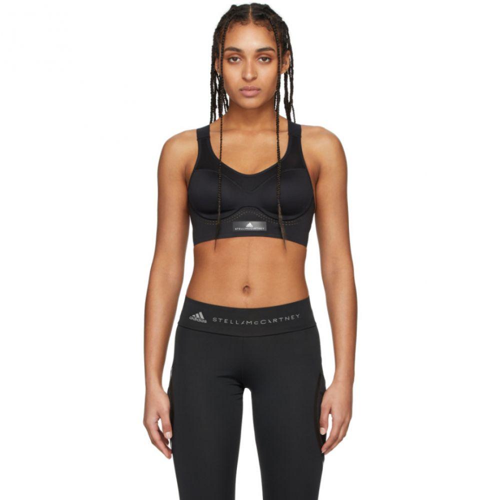 アディダス adidas by Stella McCartney レディース スポーツブラ インナー・下着【Black Stronger For It Sports Bra】Black
