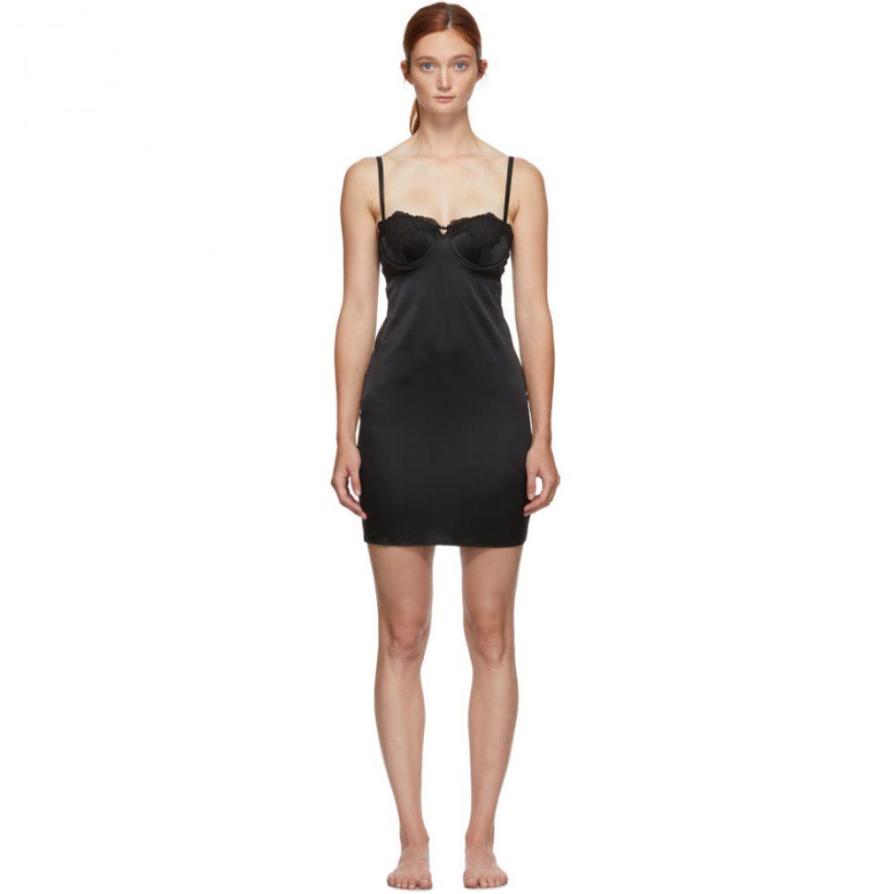 フルール ドゥ マル Fleur du Mal レディース ワンピース スリップドレス ワンピース・ドレス【Black Lace James Cup Slip Dress】Black