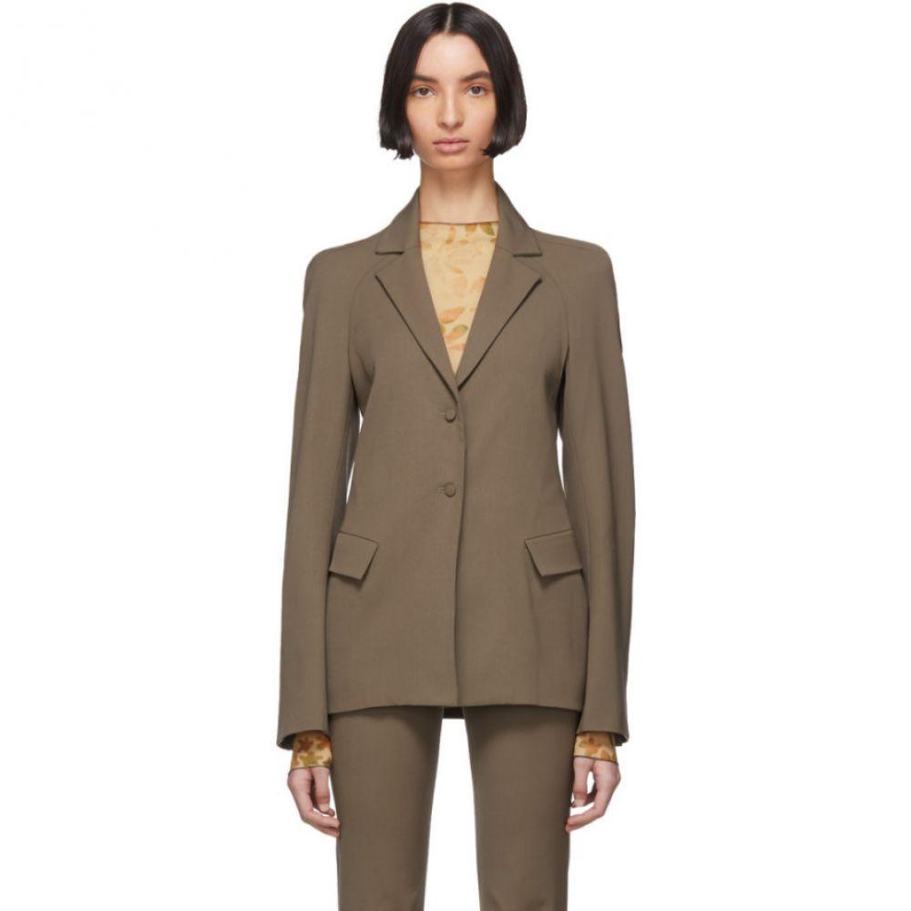 シャーロッテ ノウルズ Charlotte Knowles レディース スーツ・ジャケット アウター【Grey Wool Exos Blazer】Grey
