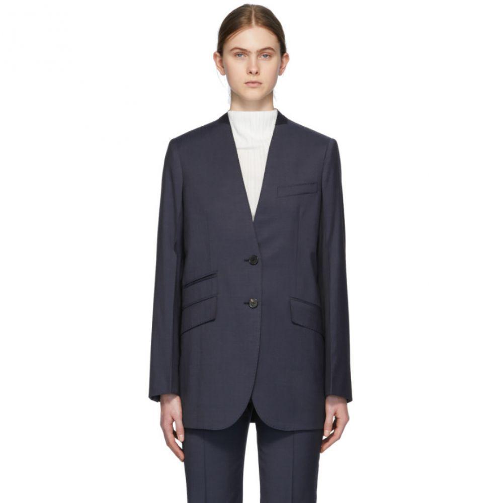 ジバンシー Givenchy レディース スーツ・ジャケット アウター【Navy Deep V Blazer】Deep blue