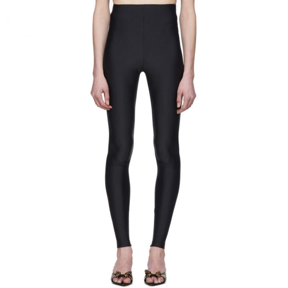 ヴェルサーチ Versace レディース スパッツ・レギンス インナー・下着【Black Basic Leggings】Black