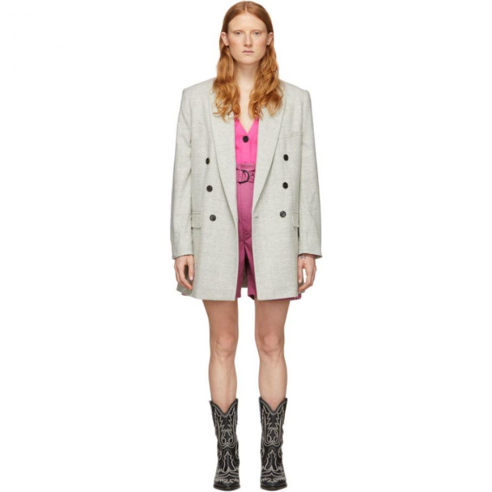 イザベル マラン Isabel Marant Etoile レディース スーツ・ジャケット アウター【Grey Wool Eagan Blazer】Light grey