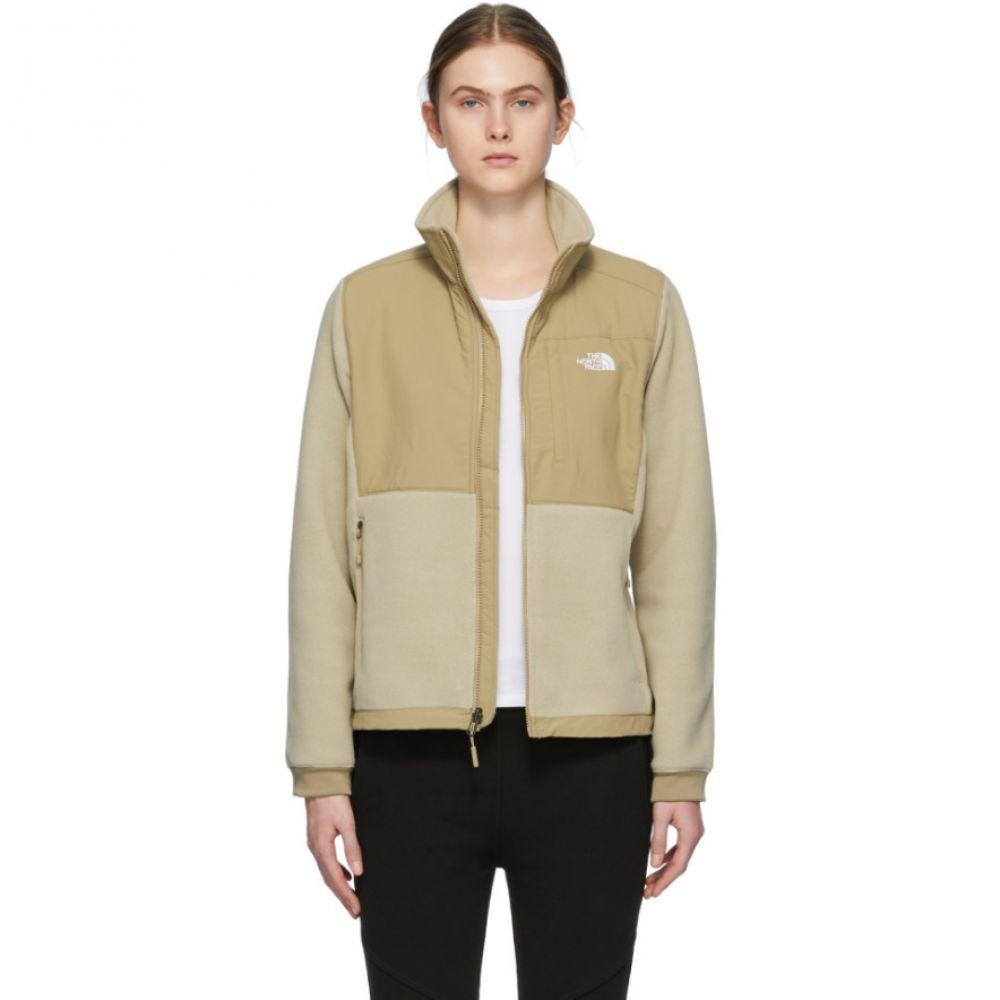 ザ ノースフェイス The North Face レディース ジャケット アウター【Beige Denali 2 Jacket】Twill beige/Kelp tan