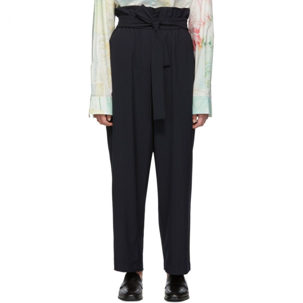 スリーワン フィリップ リム 3.1 Phillip Lim レディース ボトムス・パンツ 【Navy Paperbag Waist Trousers】Navy
