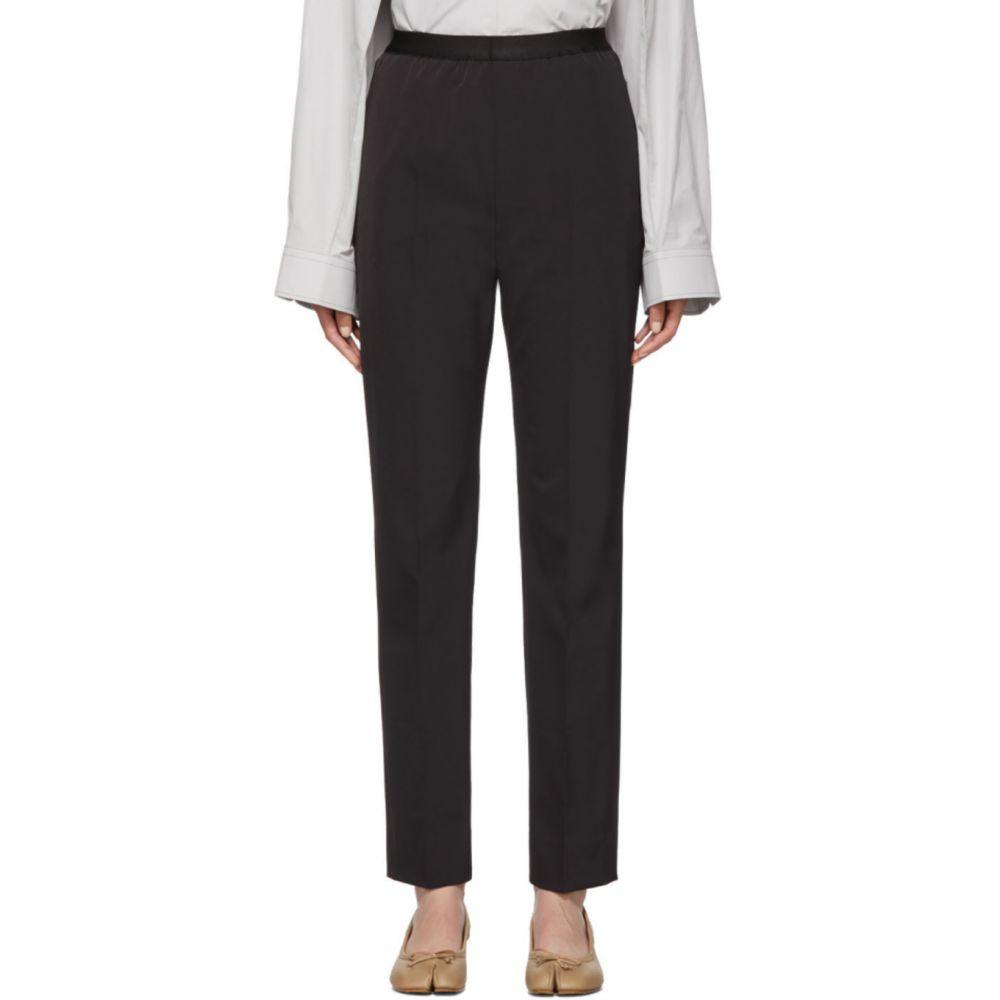 メゾン マルジェラ Maison Margiela レディース ボトムス・パンツ 【Black Gabardine Trousers】Black