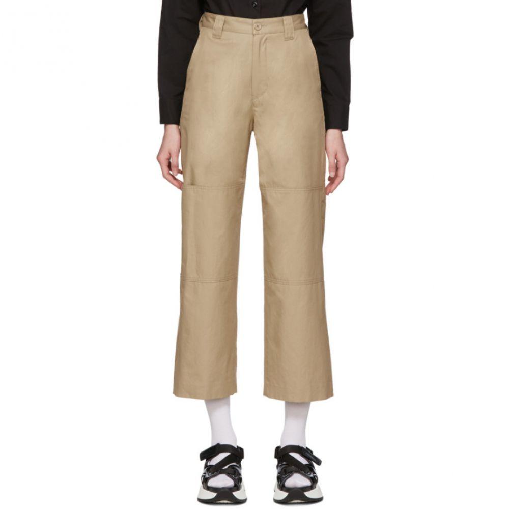 メゾン マルジェラ MM6 Maison Margiela レディース ボトムス・パンツ 【Beige Double Knee Trousers】Beige