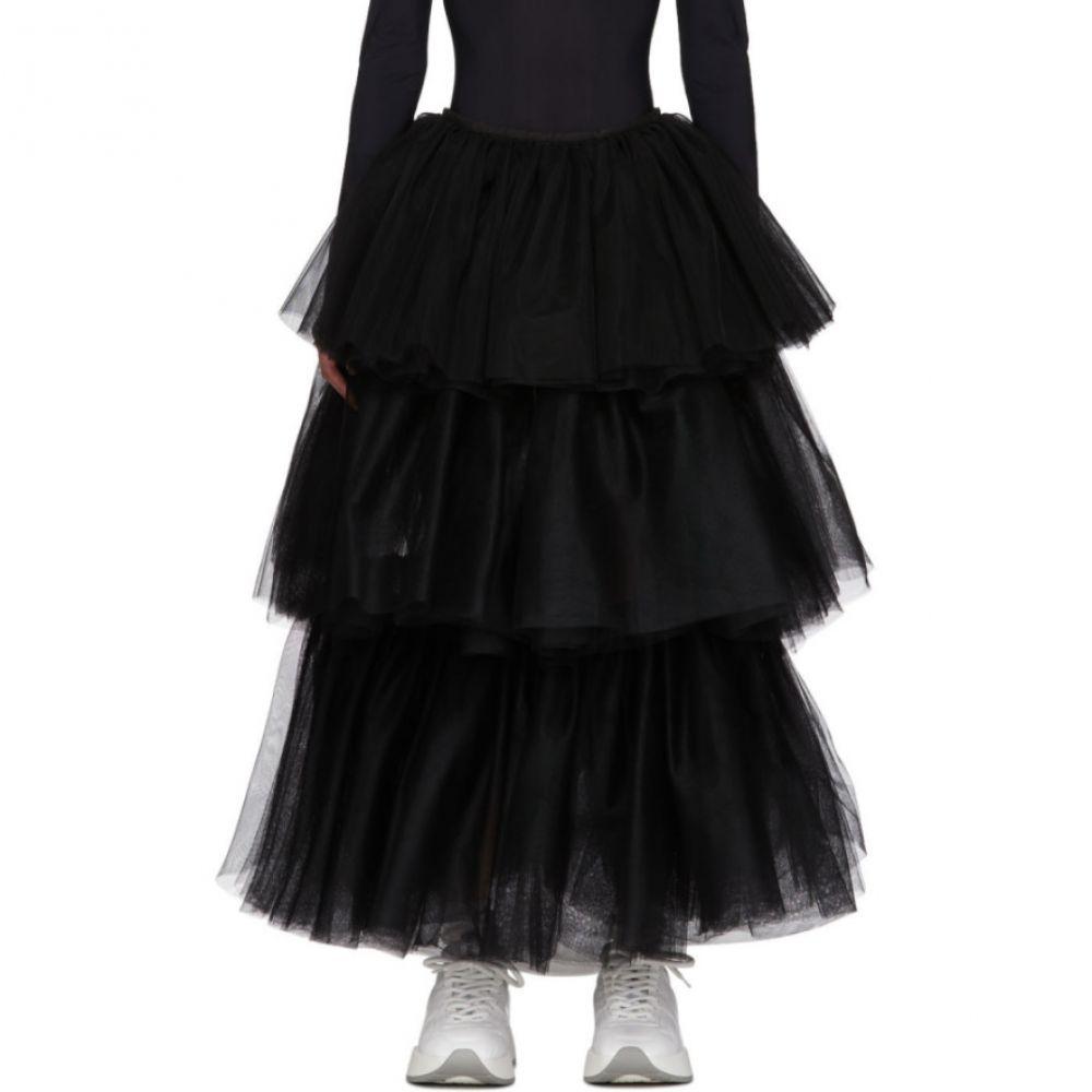 メゾン マルジェラ MM6 Maison Margiela レディース ロング・マキシ丈スカート スカート【Black Tulle Skirt】Black