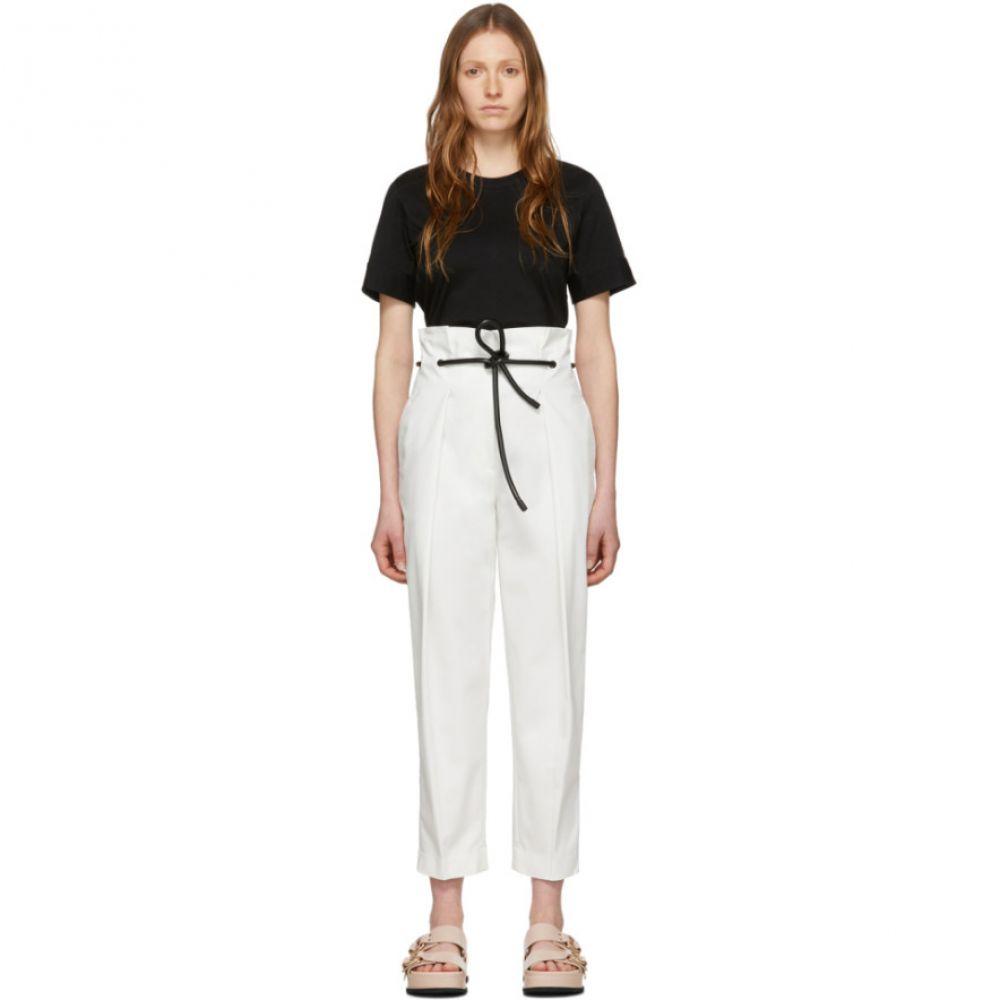 スリーワン フィリップ リム 3.1 Phillip Lim レディース ボトムス・パンツ 【White Origami Pleated Trousers】White