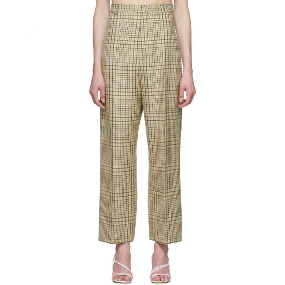ジャックムス Jacquemus レディース ボトムス・パンツ 【Green Check 'Le Pantalon Santon' Trousers】Green