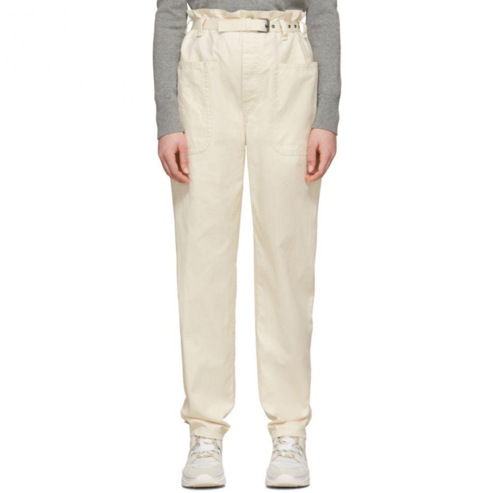 イザベル マラン Isabel Marant Etoile レディース ボトムス・パンツ 【Off-White Linen Rinny Trousers】Ecru