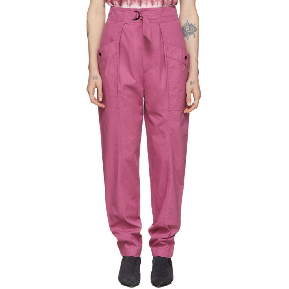 イザベル マラン Isabel Marant Etoile レディース ボトムス・パンツ 【Pink Zilyae Trousers】Raspberry