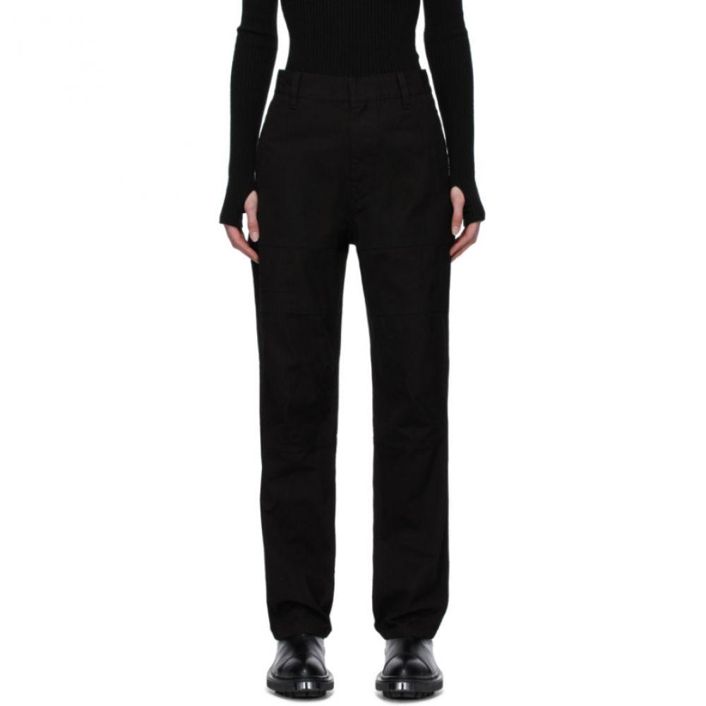 アンブッシュ Ambush レディース ボトムス・パンツ 【Black Panel Trousers】Black