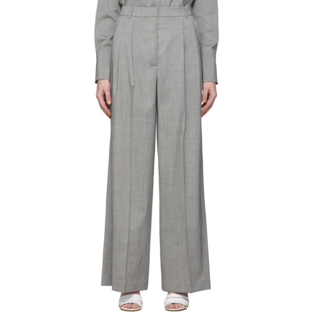 ジョゼフ Joseph レディース ボトムス・パンツ 【Grey Tropical Wool New Laurent Trousers】Steel