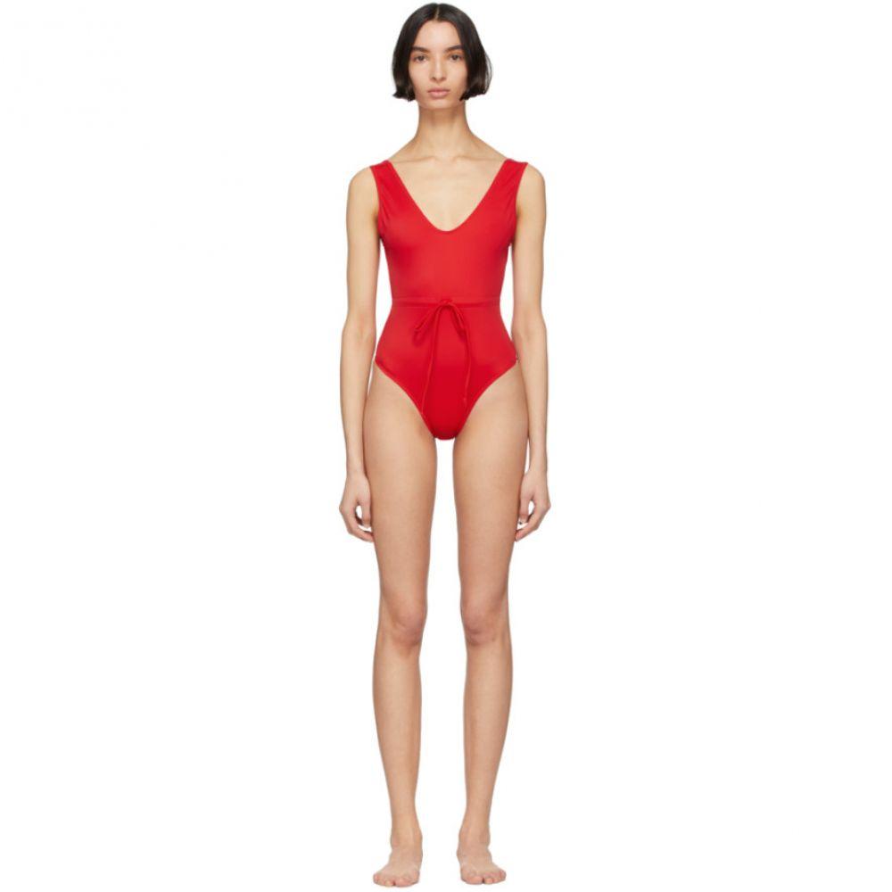ソリッド&ストライプ Solid & Striped レディース ワンピース 水着・ビーチウェア【Red 'The Michelle' One-Piece Swimsuit】Ruby