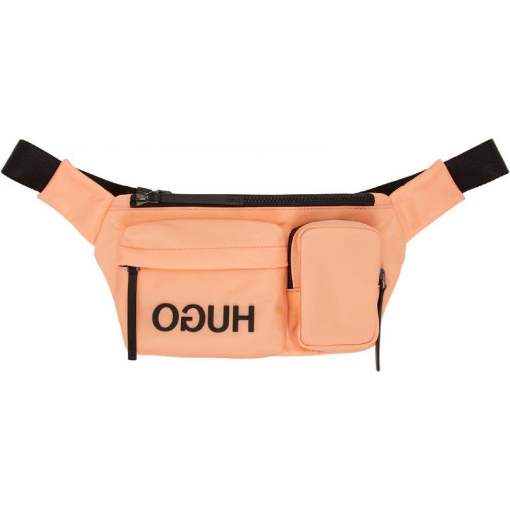 ヒューゴ ボス Hugo メンズ ボディバッグ・ウエストポーチ バッグ【Pink Reverse Logo Belt Bag】Pink