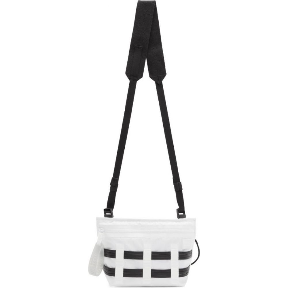 アクネ ストゥディオズ Acne Studios メンズ メッセンジャーバッグ バッグ【White Ripstop Messenger Bag】White