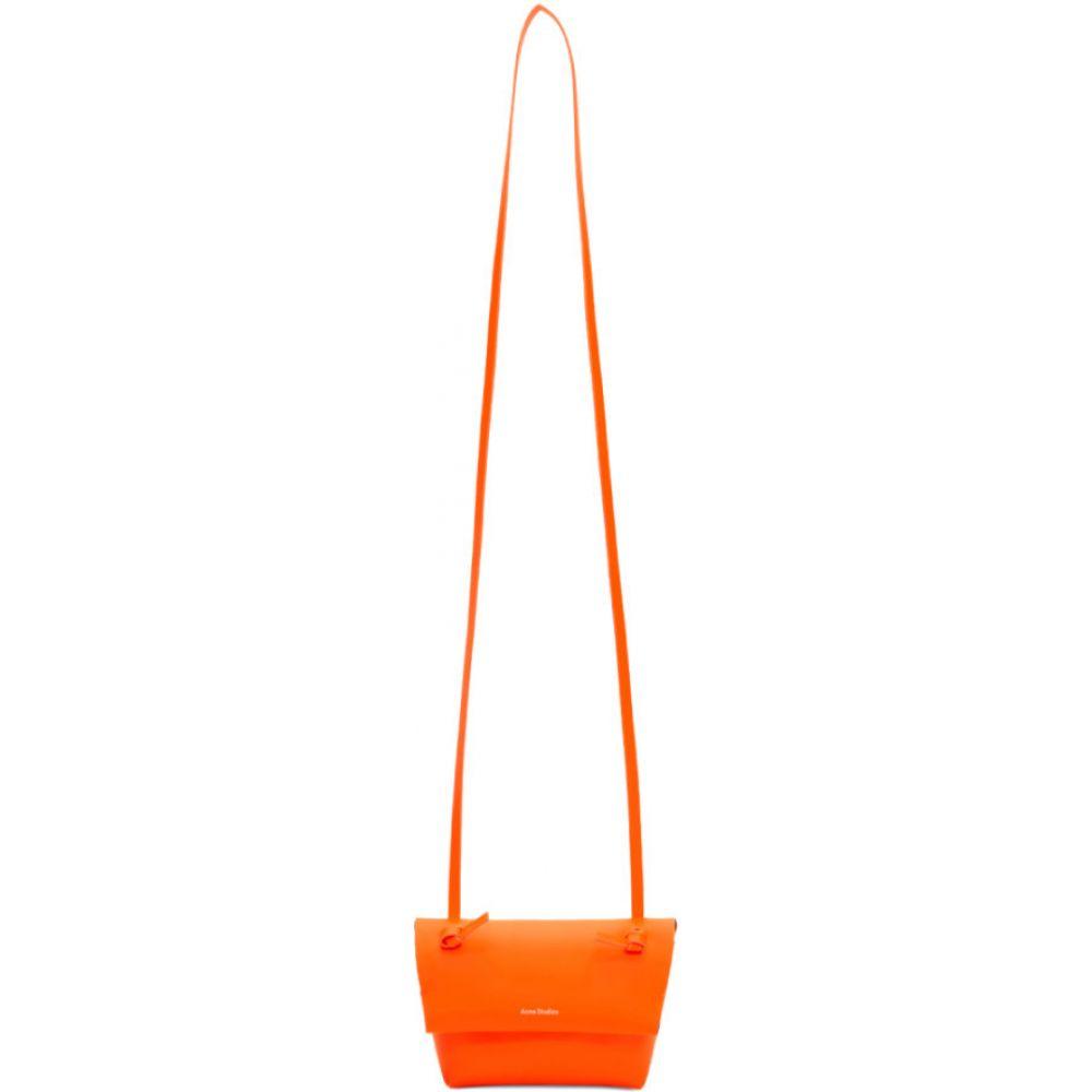 アクネ ストゥディオズ Acne Studios メンズ 財布 【Orange Mini Purse Bag】Fluorscent orange