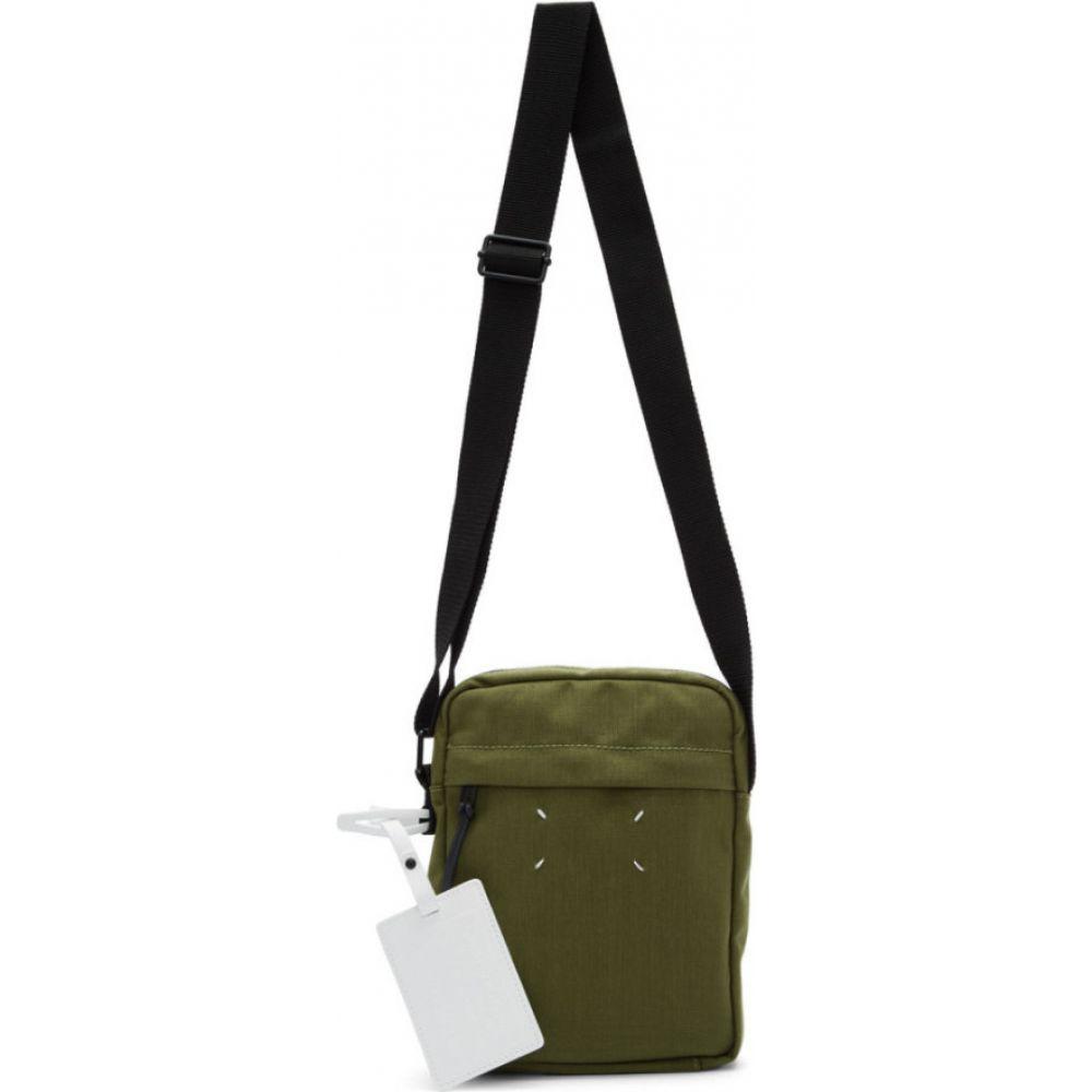 メゾン マルジェラ Maison Margiela メンズ メッセンジャーバッグ バッグ【Green Canvas Messenger Bag】Military green