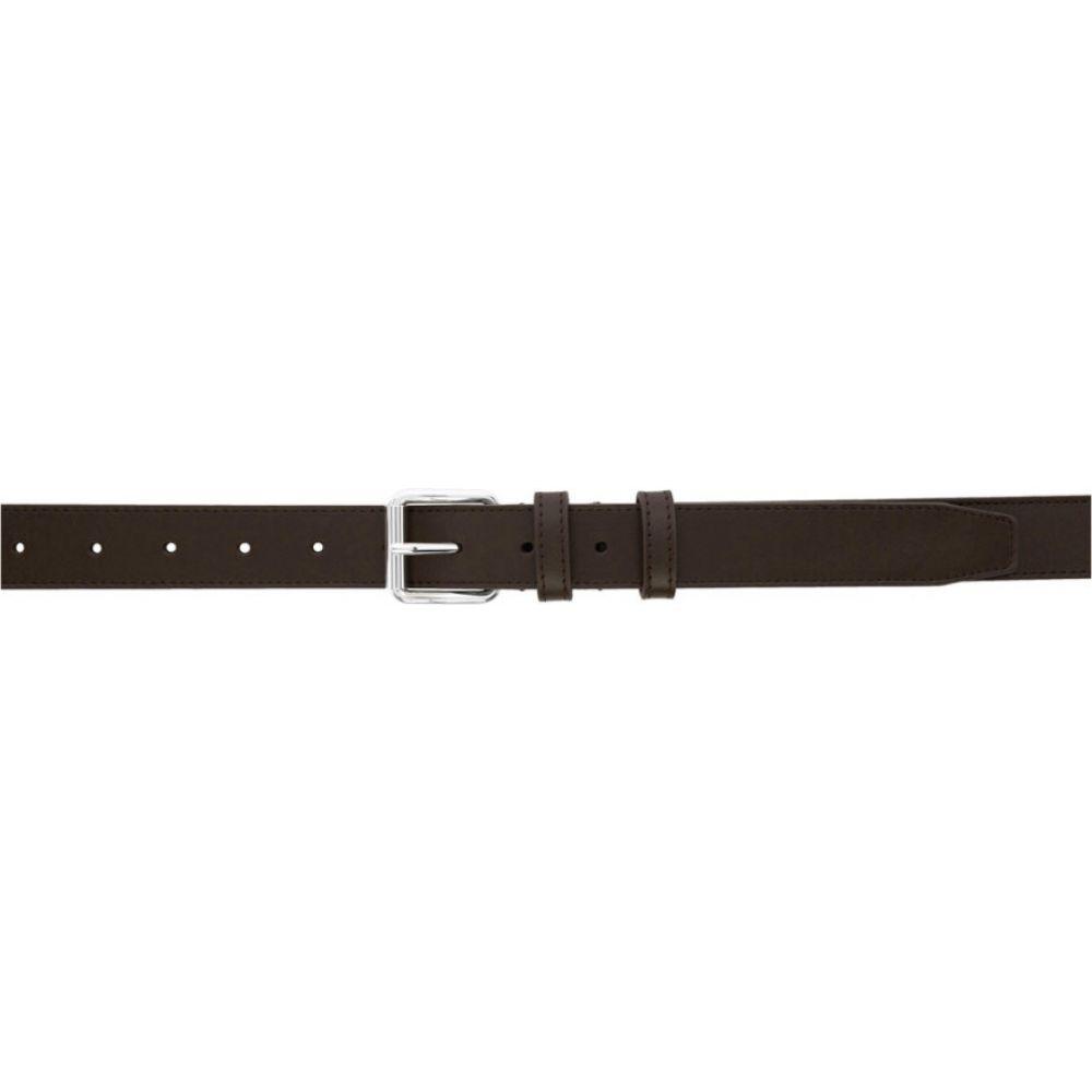 コム デ ギャルソン Comme des Garcons Wallets メンズ ベルト 【Brown Classic Line Belt】Brown