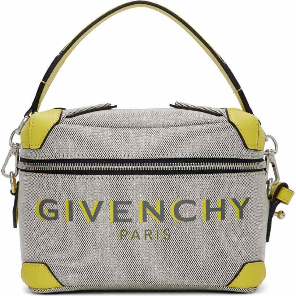 ジバンシー Givenchy メンズ メッセンジャーバッグ バッグ【Grey & Yellow Coffer Box Messenger Bag】Grey/Yellow