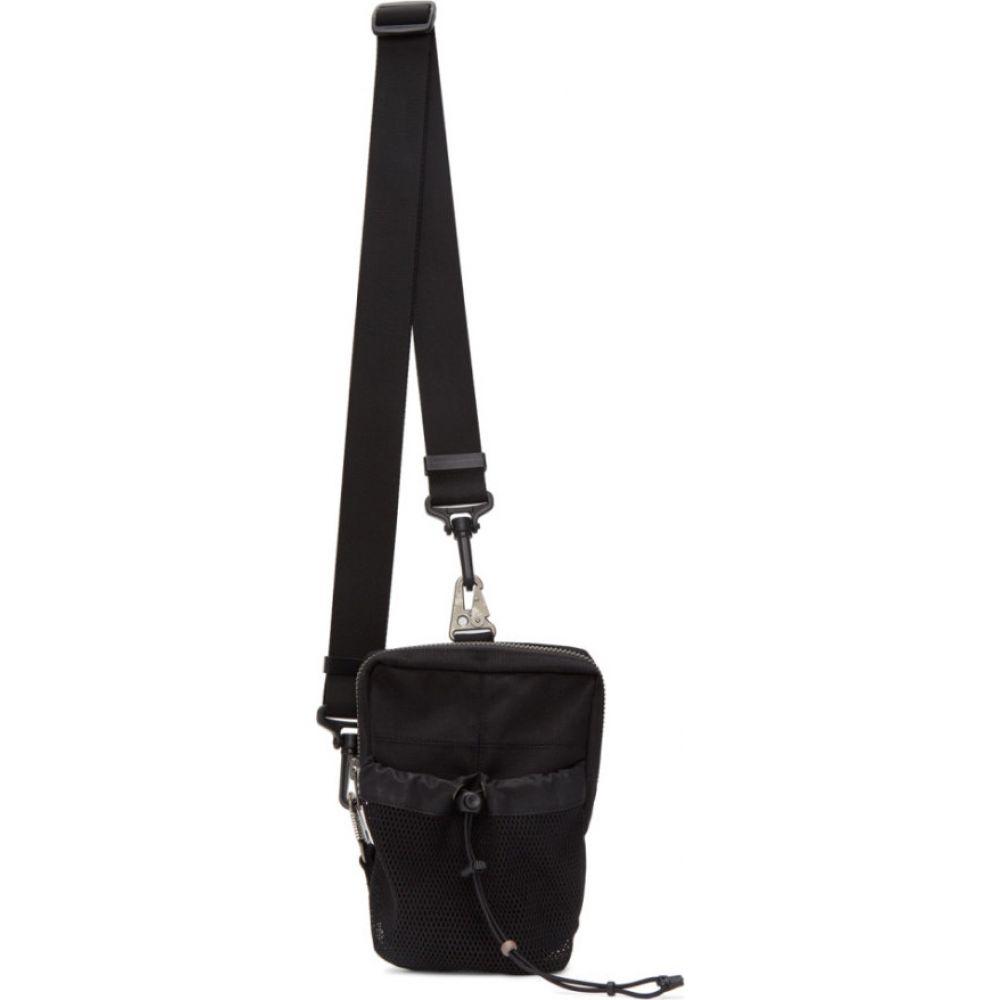 ブラック マール Blackmerle メンズ メッセンジャーバッグ バッグ【Black Crossbody Bag】Black