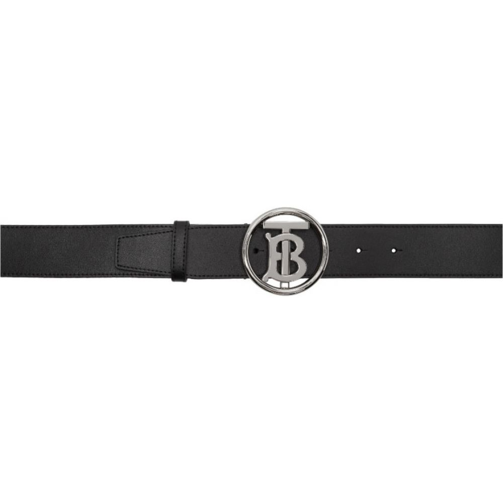 バーバリー Burberry メンズ ベルト 【Black Outline Belt】Black