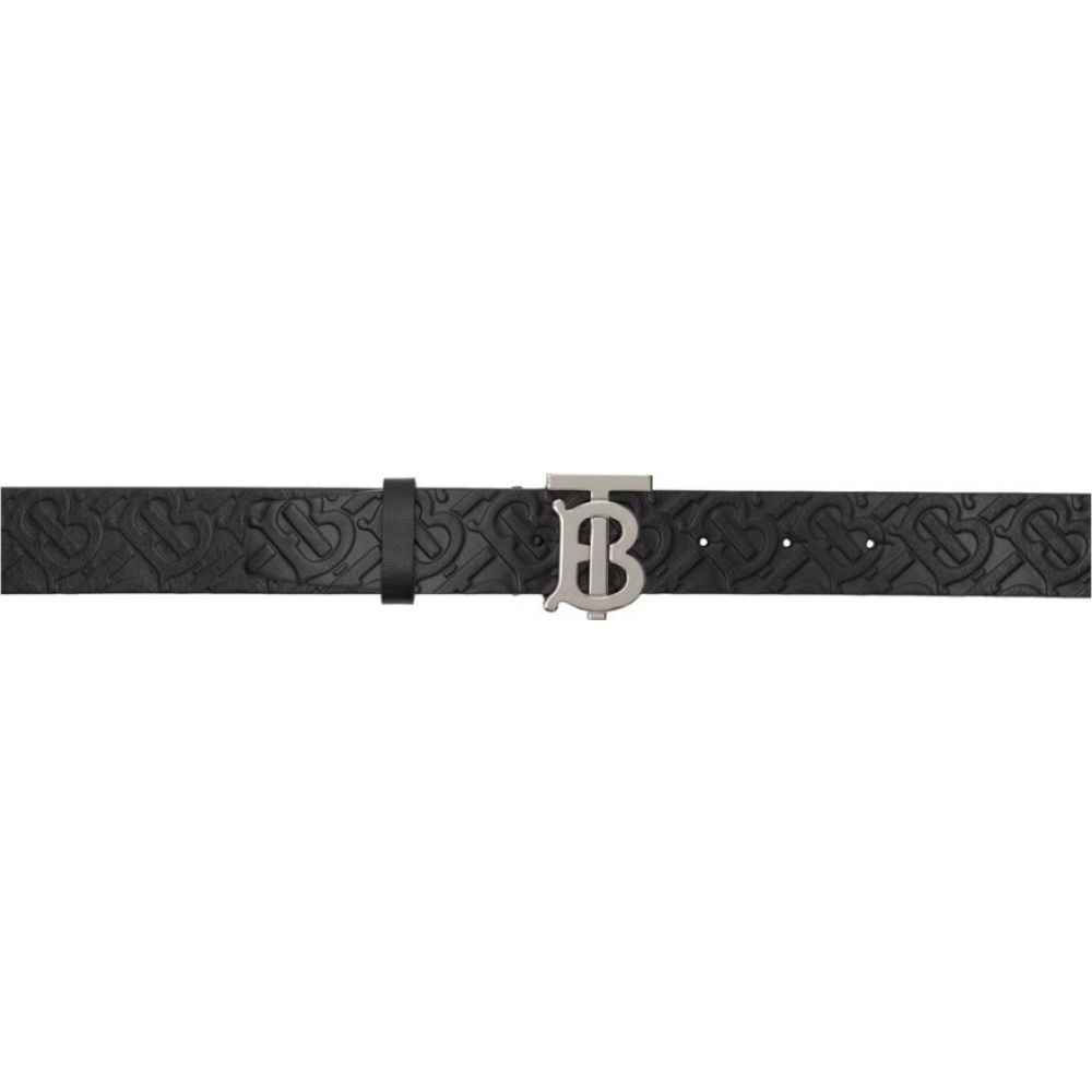 バーバリー Burberry メンズ ベルト 【Black Plaque Belt】Black