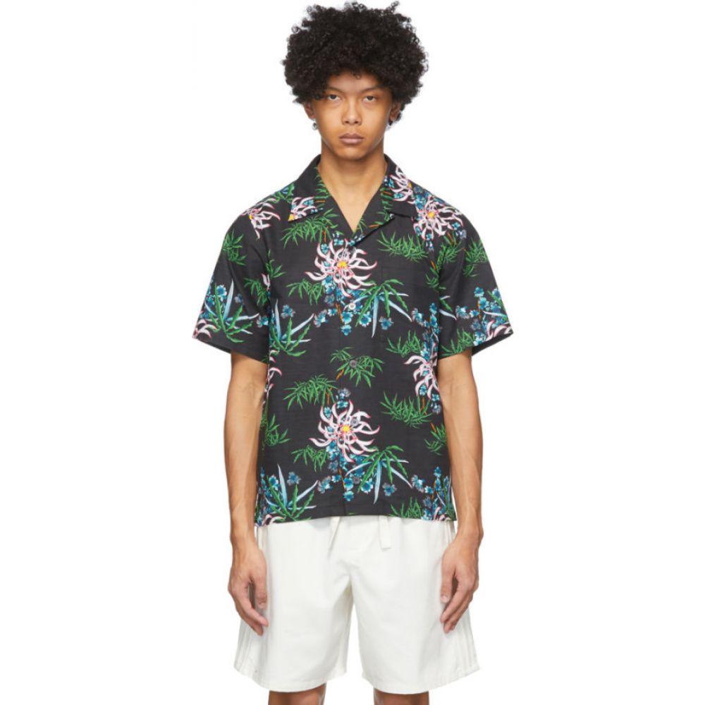 ケンゾー Kenzo メンズ シャツ トップス【Black Sea Lily Shirt】Black