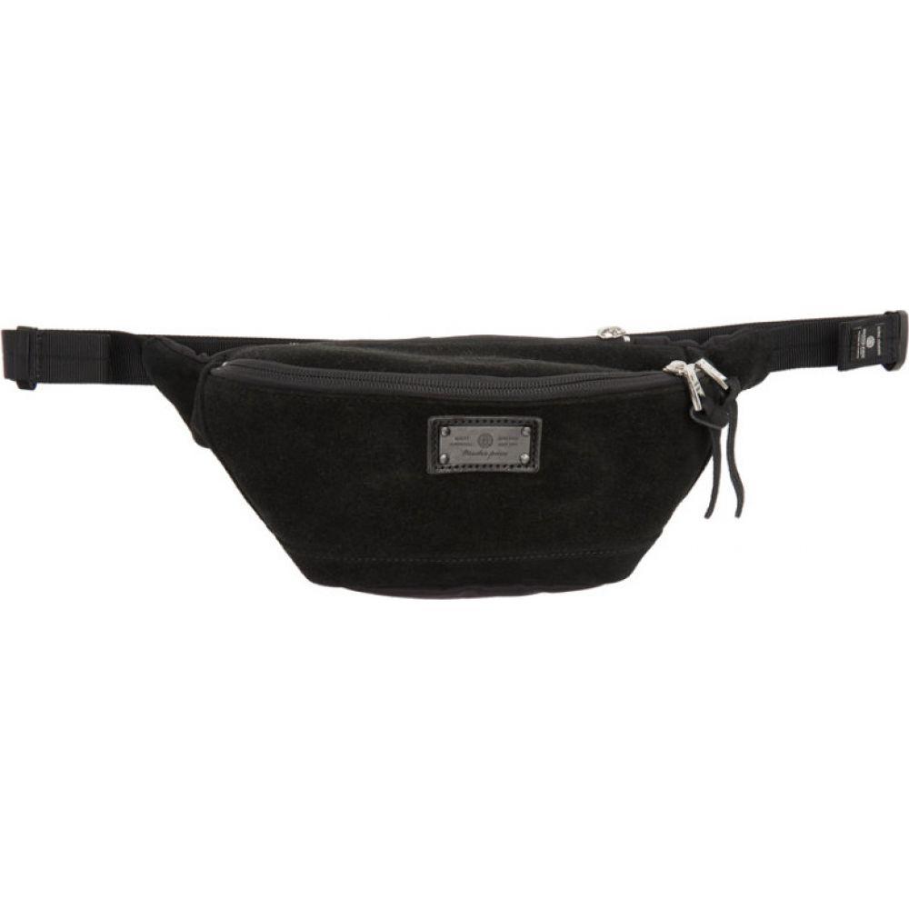 マスターピース Master-Piece Co メンズ ボディバッグ・ウエストポーチ バッグ【Black Revise Waist Bag】Black