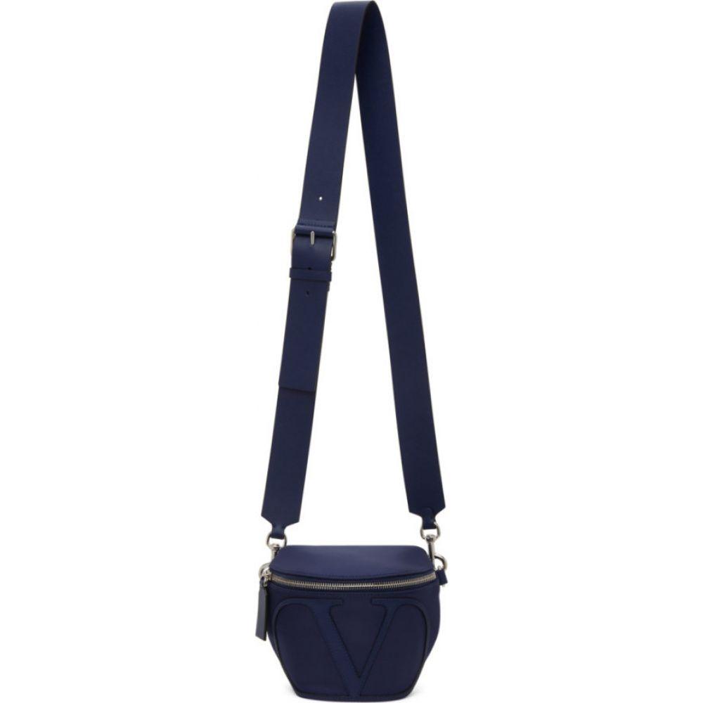 ヴァレンティノ Valentino メンズ ボディバッグ・ウエストポーチ バッグ【Navy Garavani VLogo Belt Bag】Navy