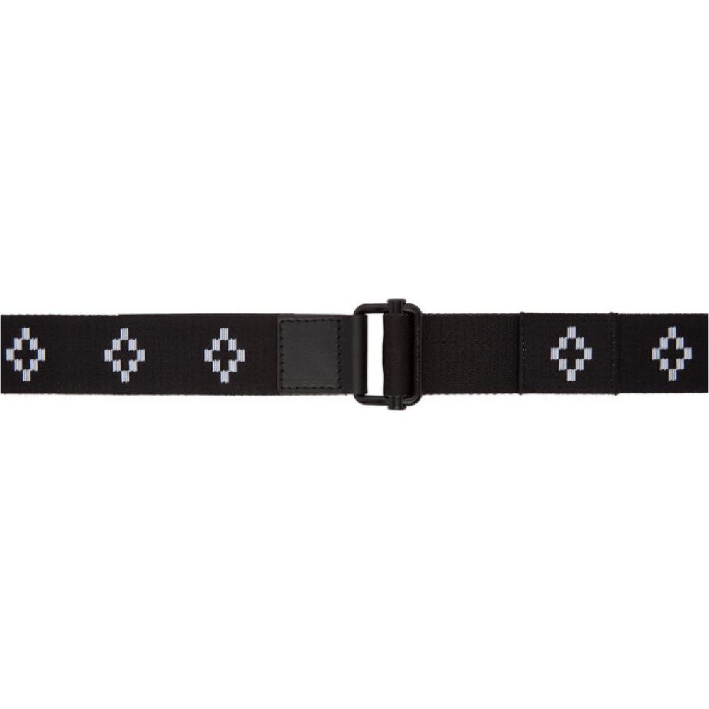 マルセロバーロン Marcelo Burlon County of Milan メンズ ベルト 【Black & White All Over Cross Belt】Black/White